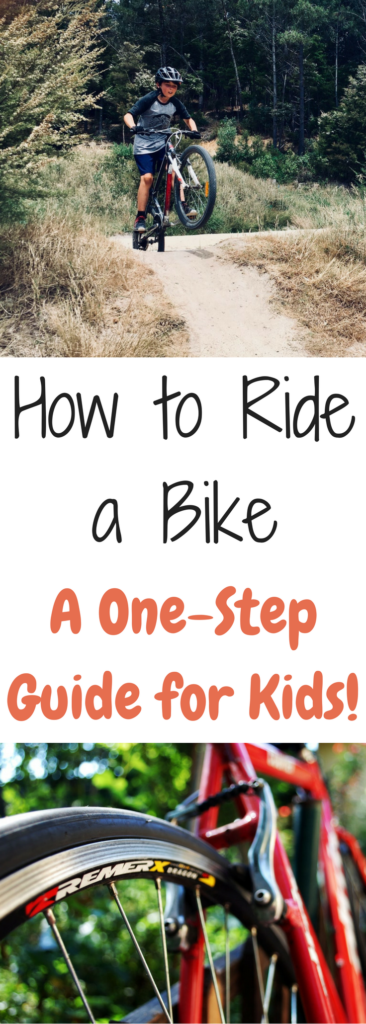How to teach a kid to pedal a bike. When to taking training wheels off a bike. How to teach kids to ride without training wheels.
