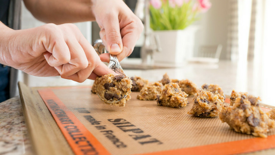 The best no refined sugar chocolate chip cookies EVER!