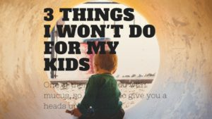3 things you need to stop right now