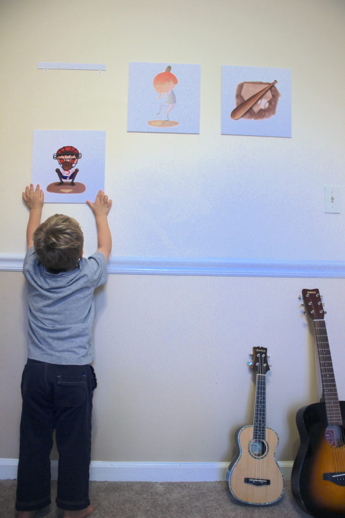 wall art for boys room